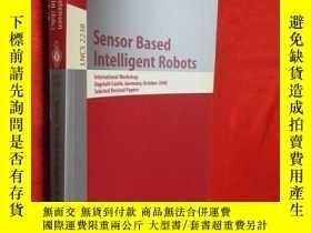 二手書博民逛書店Sensor罕見Based Intelligent Robots