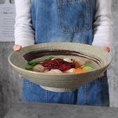 日式和風陶瓷碗大碗水煮牛肉酸菜魚碗水煮魚盆大號面碗大尺寸面碗【onecity】