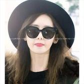 現貨-韓國墨鏡綠色墨鏡鏡面反光 圓框眼鏡墨綠貓眼復古男女通用太陽眼鏡 鏡面彩膜反光鏡片 120