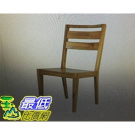 [COSCO代購] 優渥實木雙槓式造型椅 兩入組 _W113409