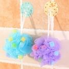 彩色大號海綿沐浴球搓澡巾 柔軟多泡沫搓背浴擦洗澡澡花沐浴花·享家