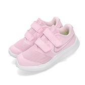 Nike 慢跑鞋 Star Runner 2 TDV 粉紅 白 透氣鞋面 低筒 童鞋 小童鞋 運動鞋【PUMP306】 AT1803-601