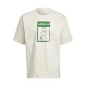 adidas 短袖T恤 Original Tee Tinkerbell 米白 綠 男女款 短T 尤達 星際大戰 運動休閒 【ACS】 GP3461