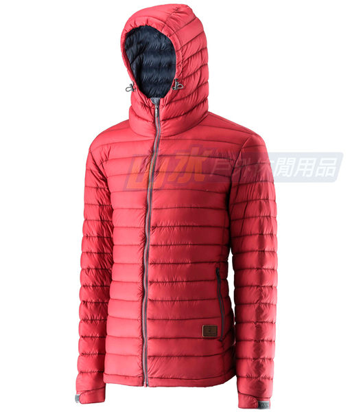 【山水網路商城】荒野 WILDLAND 男款 700FP連帽輕羽絨衣/輕羽絨/羽絨衣 0A22112 紅色