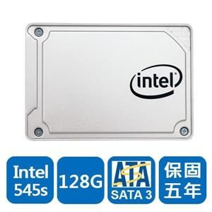Intel 545s-SSDSC2KW128G8XT 128GB 2.5吋 固態硬碟