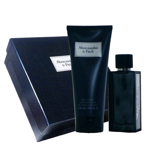 Abercrombie & Fitch First Instinct Blue 湛藍男性淡香水 50ml 組合