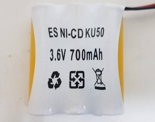消防器材批發中心 3.6V600/700mAH並排 鎳鎘電池 LED.緊急照明燈 出口燈.代客更換電池免工資