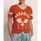 ONETEASPOON WW WARM RED PARADISE RINGER SPORTS TEE T恤-紅(女)