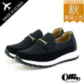 韓國Ollie 正韓製 一字拼接造型 仿舊刷色皮革 軟底休閒懶人鞋【F720701】2色-版型偏小/SD韓美鞋