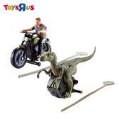 玩具反斗城 MATTEL  侏羅紀世界2-恐龍重機人物發射/款