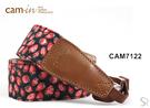 《 統勛.照相》Cam-in CAM7122 相機背帶 牛仔背帶系列 草莓牛仔系列 黑
