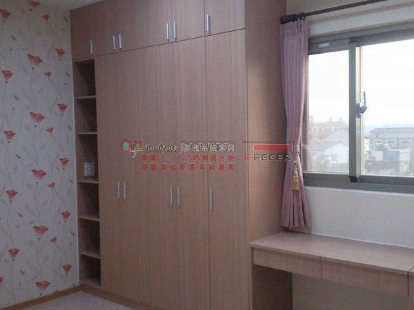 歐雅系統家具   整套系統臥房,化妝枱,書櫃 ,衣櫃 B0016