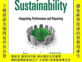 二手書博民逛書店Corporate罕見Sustainability: Integrating Performance and Re