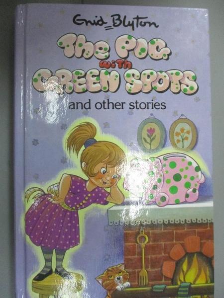 【書寶二手書T1/原文小說_GTE】The Pig with Green Spots_Enid Blyton