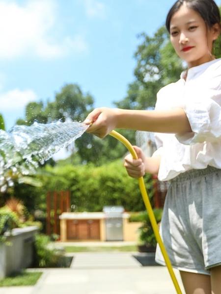 洗車水槍神器高壓強力澆花套裝軟管水管收納架增壓噴頭家用沖水泵 NMS小艾新品