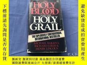 二手書博民逛書店The罕見Holy Blood and the Holy Gra