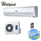 惠而浦 Whirlpool 單冷定頻一對一分離式冷氣 ATO-HR80NA / ATI-HR80NA