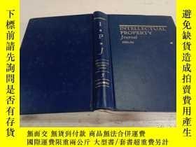 二手書博民逛書店INTELLECTUAL罕見PROPERTY Journal 1989-90:知識產權雜誌1989-90Y20