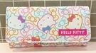 【震撼精品百貨】Hello Kitty 凱蒂貓~三麗鷗KITTY日本長夾/手拿包-彩緞滿版#13058
