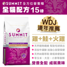 【毛麻吉寵物舖】Summit全方位營養糧全貓配方15B 貓糧/貓飼料/貓乾乾