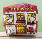 【震撼精品百貨】Hello Kitty 凱蒂貓~Hello Kitty日本SANRIO三麗鷗KITTY化妝包/筆袋-方形復古*57564