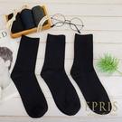 黑色經典素色男生中筒襪子 純棉排汗涼感消臭百搭正式皮鞋紳士襪 三雙黑色 三入一組