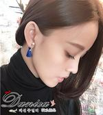 耳環 韓國 氣質甜美小清新珍珠穗子流蘇2 用後掛耳環S90581  價Danica 韓系飾品