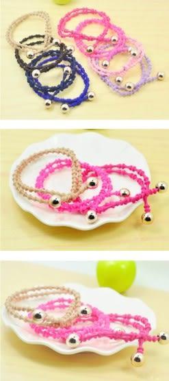 [協貿國際] 韓國髮圈高彈力皮筋竹節款糖果色髮圈 (15個價)