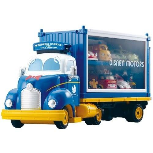《TOMICA》迪士尼夢幻唐老鴨展示貨車 ╭★ JOYBUS玩具百貨