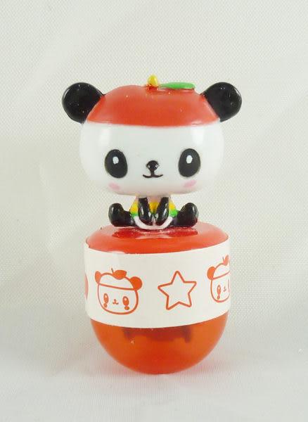 【震撼精品百貨】Pandapple Sanrio 蘋果熊貓~滾輪印章