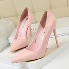 高跟鞋 韓版時尚簡約女鞋顯瘦高跟鞋細跟超...