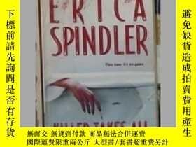 二手書博民逛書店英文原版罕見Killer Takes All by Erica