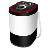 洗衣機 單桶筒半全自動嬰兒童小型迷你洗衣機洗襪子神器洗 220v