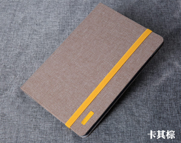 iPad Mini 4 鬆緊綁帶 十字紋布平板套 可立支架 布紋平板殼 智慧休眠 防摔防撞 平板保護套