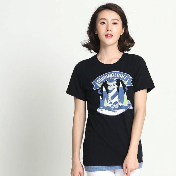 【101原創】台灣製.苦海明燈T恤上衣(男女適穿)-6201147