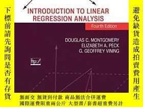 二手書博民逛書店Introduction罕見To ar Regression AnalysisY256260 Douglas