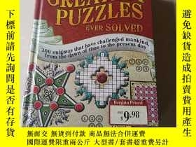二手書博民逛書店The罕見Greatest Puzzles Ever Solve