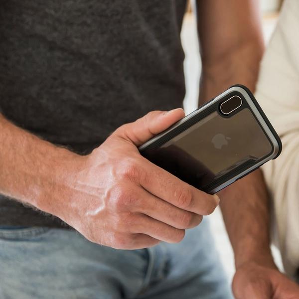 贈無線充電盤 x-doria 美國軍規 SE2 X 8 7 6 i8 Plus 手機殼 防摔殼 SGS防摔認證 防摔邊框+透明背蓋