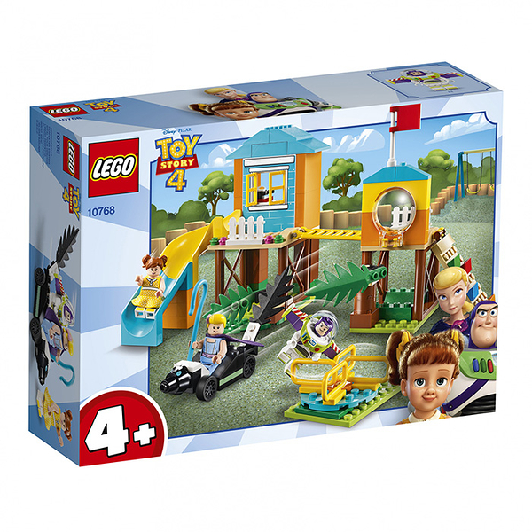 LEGO 樂高 玩具總動員4 10768 Buzz & Bo Peep's Playground Adventure 【鯊玩具Toy Shark】
