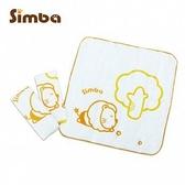 小獅王辛巴 Simba 印花紗布手帕 3入