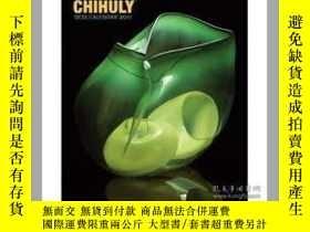 二手書博民逛書店Chihuly罕見Desk Calendar 2011-Chihuly書桌日歷2011Y436638 Chih