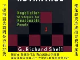 二手書博民逛書店Bargaining罕見For Advantage-討價還價Y436638 G. Richard Shell
