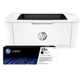 【HP】LJPro M15w 印表機+ CF248A 1支