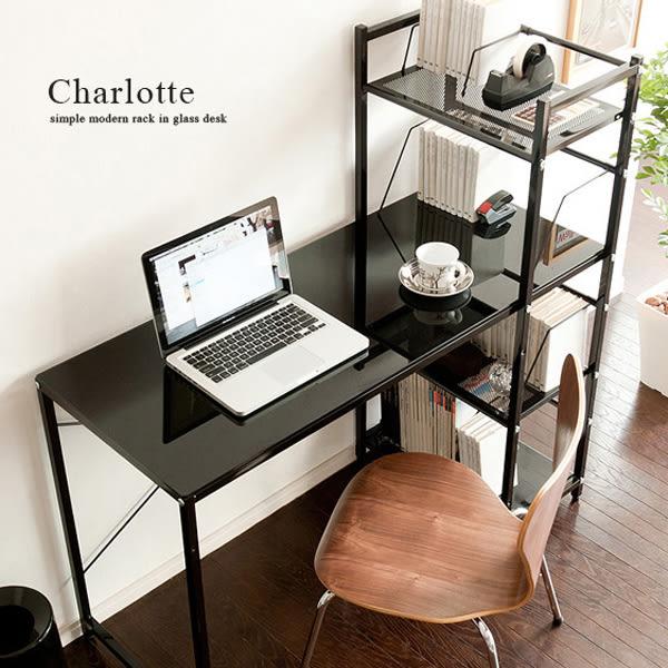 書桌 辦公桌 高機能【I0017】強化玻璃多功能電腦桌-質感黑 MIT台灣製 ac 完美主義