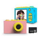 ★隨貨附贈32G卡 FUNY Kids 童趣數位相機 海洋藍海洋藍