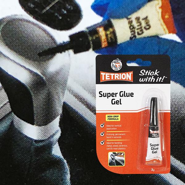 TETRION Super Glue Gel 超級快乾膠