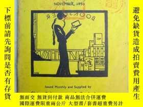 二手書博民逛書店Books罕見of the Month 每月書刊述評 1930年