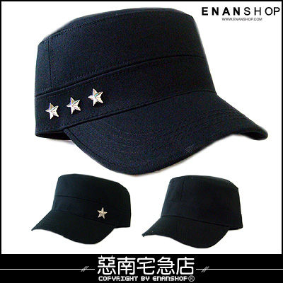 軍帽帽子 惡南宅急店【0066G】首爾漫遊‧實搭軍帽『編織旋律』中性風格‧單頂價