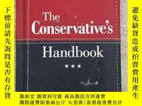 二手書博民逛書店the罕見conservative s handbookY191