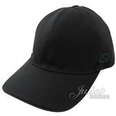 茱麗葉精品【全新現貨】 GUCCI 387554 刺繡LOGO棉質棒球帽/鴨舌帽.黑